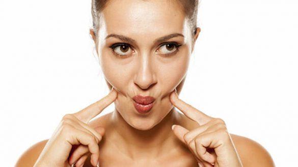 8 روش برای لاغر کردن صورت