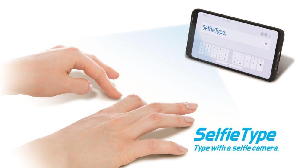هرآنچه از کیبورد مجازی سامسونگ Selfie Type میدانیم!
