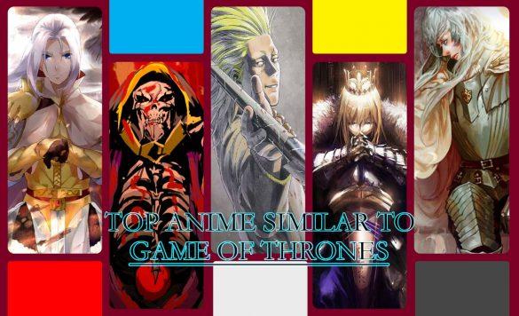 بهترین انیمههای شبیه بازی تاج و تخت Game of Thrones