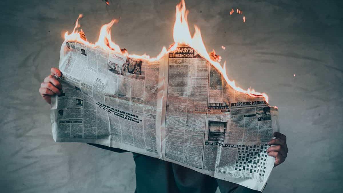 سندرم خبر بد ؛ آیا می دانستید اخبار بد می توانند شما را بیمار کنند؟