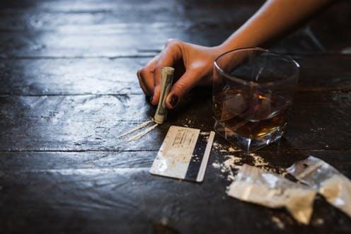 مصرف همزمان الکل و کوکائین