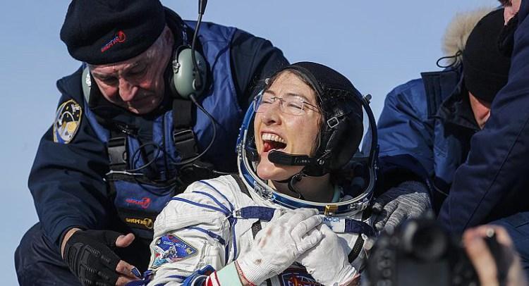 رکورد طولانی ترین سفر فضایی توسط یک زن شکسته شد !