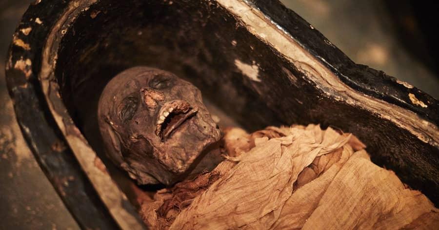 صدای مومیایی 3000 ساله را گوش کنید !!!