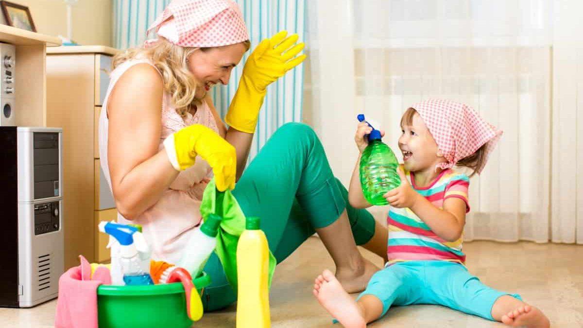 استفاده از شوینده ها خطر آسم در کودکان را به همراه دارد!