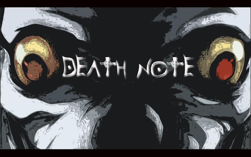 بهترین والپیپرهای انیمه Death Note