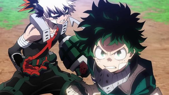 انیمه سینمایی My Hero Academia: Heroes Rising
