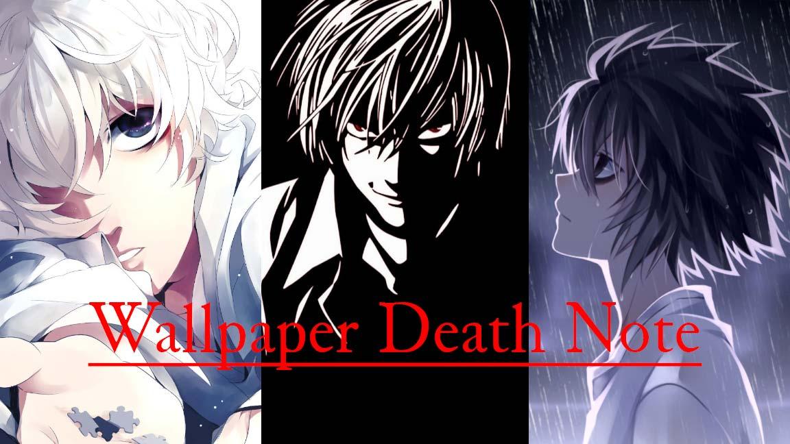 بهترین والپیپرهای انیمه Death Note که حتماً باید آنها را دانلود کنید!