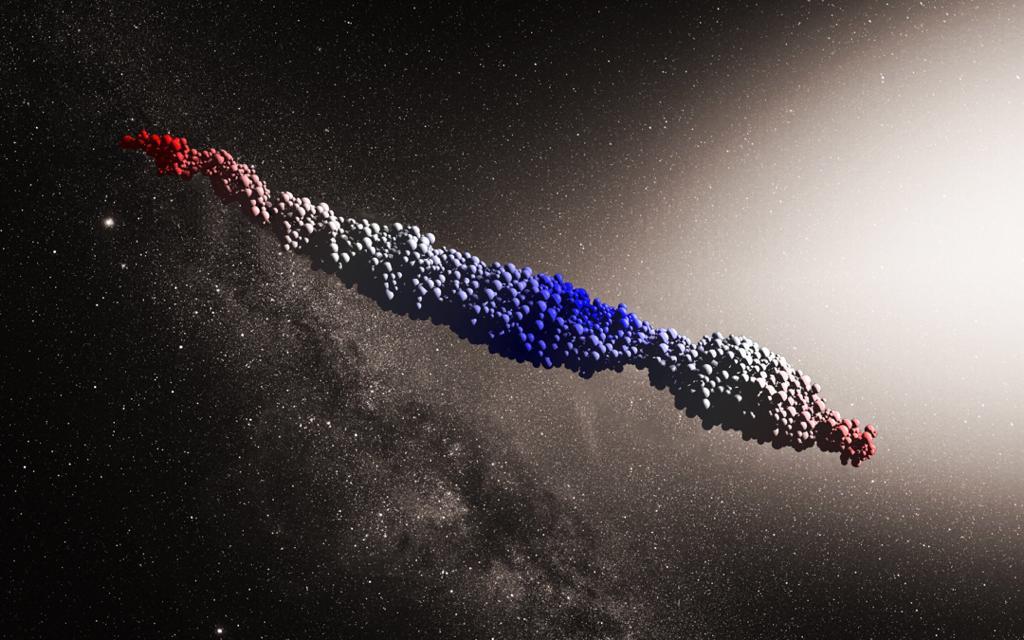 مبدا جسم فضایی نا شناخته