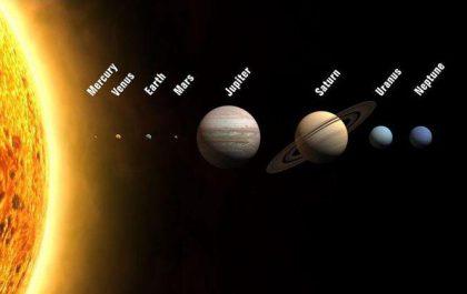 زمین متراکم ترین سیاره ی منظومه ی شمسی