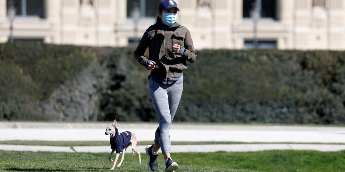ورزش کردن با ماسک در فضای باز امکان پذیر است؟