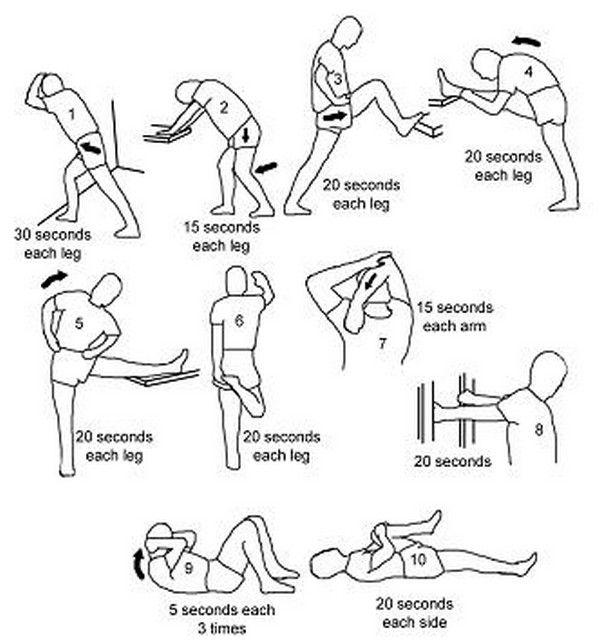 8 تمرین کششی برای تقویت تحرک و ریکاوری در خانه