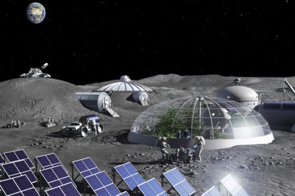 ساخت پایگاه در ماه