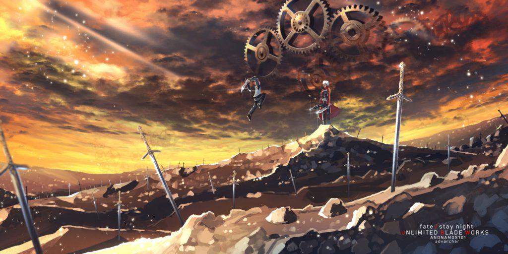 والپیپرهای سرنوشت/شب ایستاده: شمشیر زار بیانتها Fate/Stay Night: Unlimited Blade Works