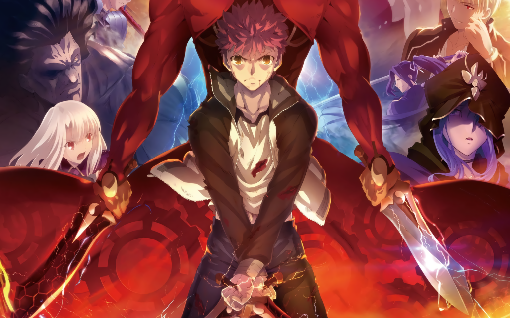 Fate/Stay Night: Unlimited Blade Works Wallpapers