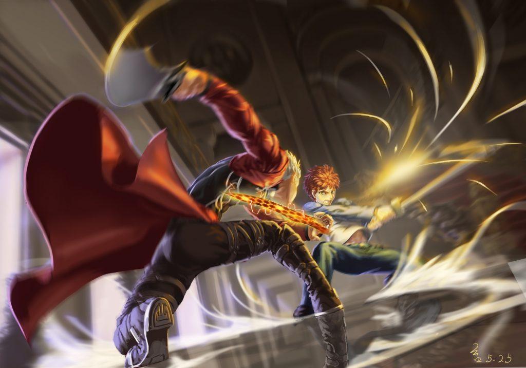 بهترین والپیپرهای Fate/Stay Night: Unlimited Blade Works