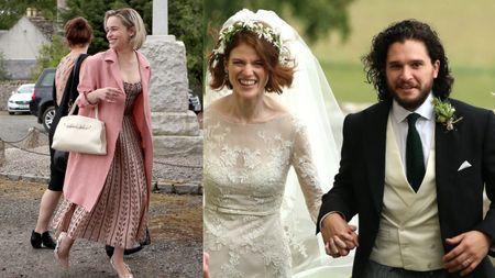 کیت هرینگتون و امیلیا کلارک