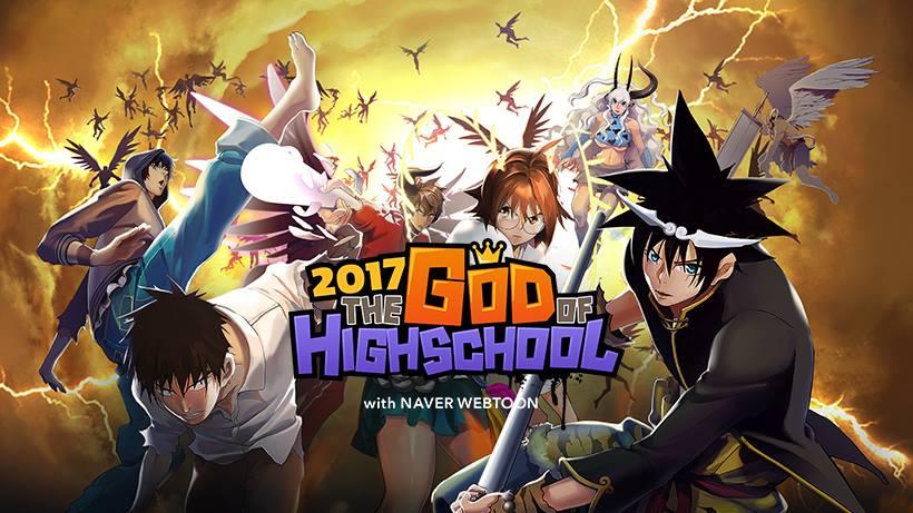 تریلر جدید انیمه God of High School! یک وبتون دیگر انیمه می شود
