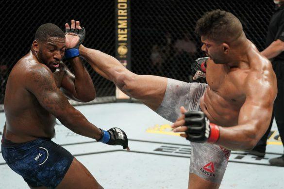 مبارزه الیستر اوریم با والت هریس در UFC Fight Night 176