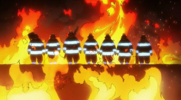 فصل دوم انیمه Fire Force