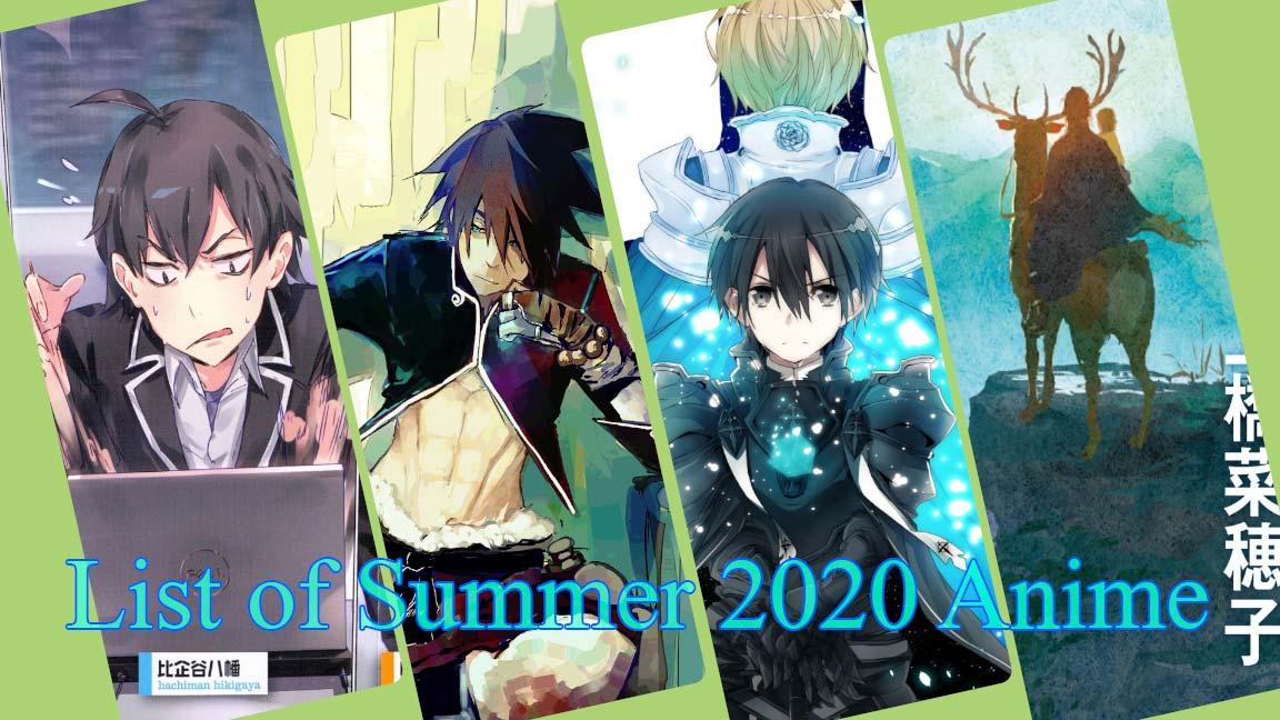 مورد انتظارترین انیمه های تابستان 2020 که بی صبرانه منتظر انتشارشان هستیم!