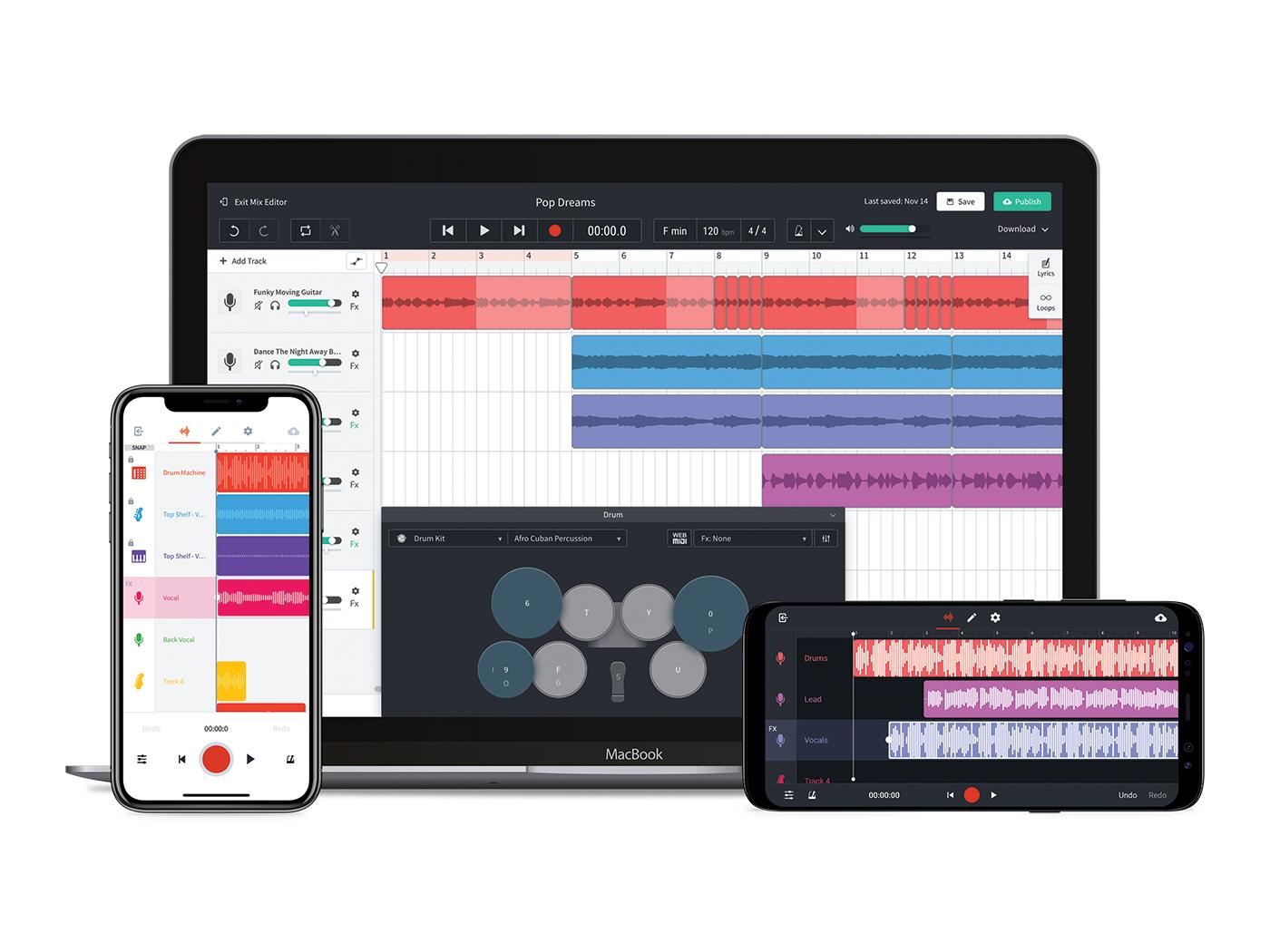 ابزار آهنگسازی آنلاین و رایگان