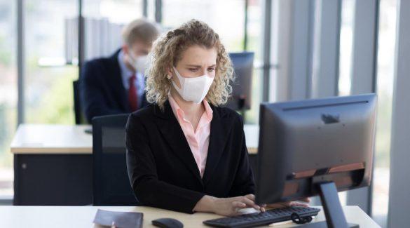 جلوگیری از ابتلا به کرونا در محل کار