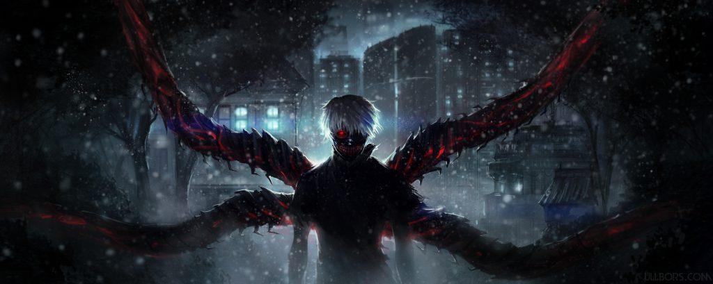 بهترین والپیپرهای انیمه Tokyo Ghoul