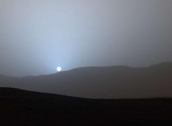غروب خورشید در سیارات دیگر