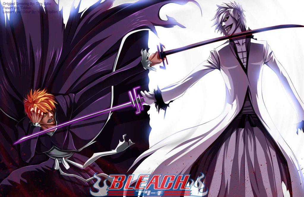 بهترین والپیپرهای انیمه Bleach