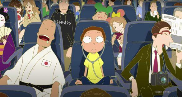 انیمه کوتاه ریک و مورتی Rick and Morty
