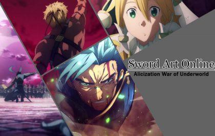 بررسی قسمتهای ۳۷ تا ۴۰ انیمه Sword Art Online Alicization ندای برخواستن
