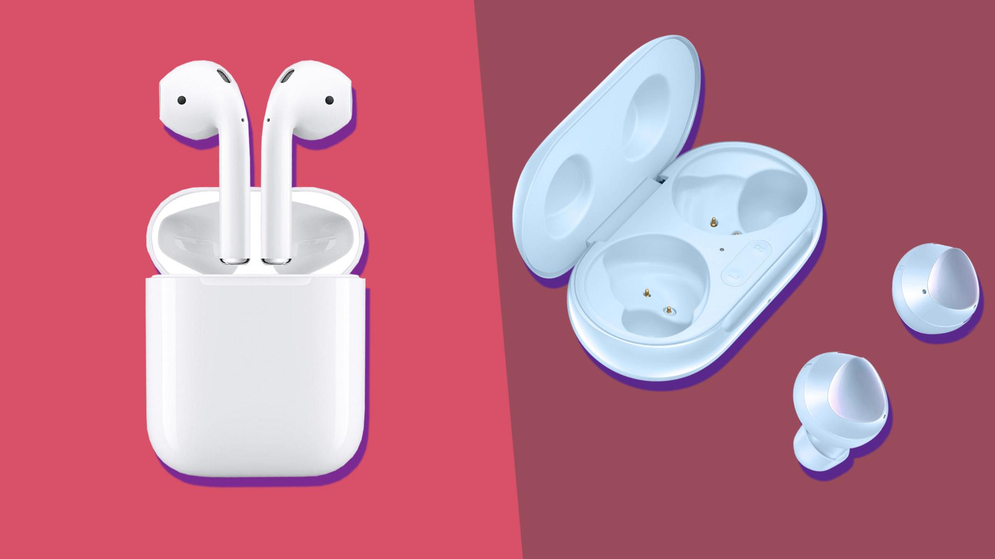 اپل ایرپاد و سامسونگ گلکسی بادز