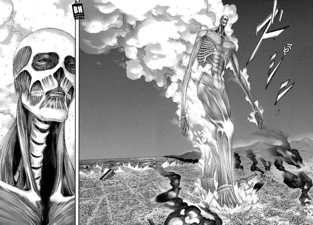 مقایسه مانگا و انیمه قسمت هفتم فصل چهارم انیمه نبرد با تایتانها Attack on Titan