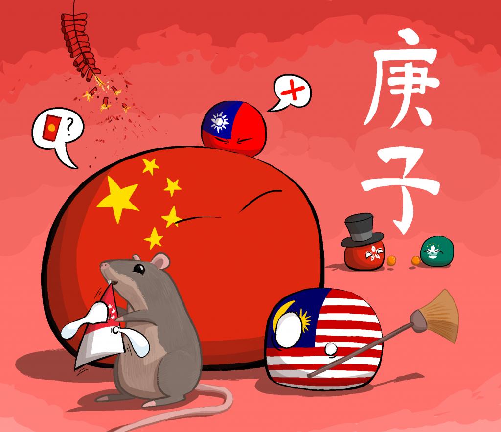 چین شباهت اتک ان تایتان _ کشورهای توپی