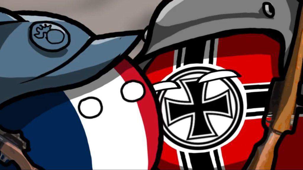 فرانسه شباهت Attack on Titan