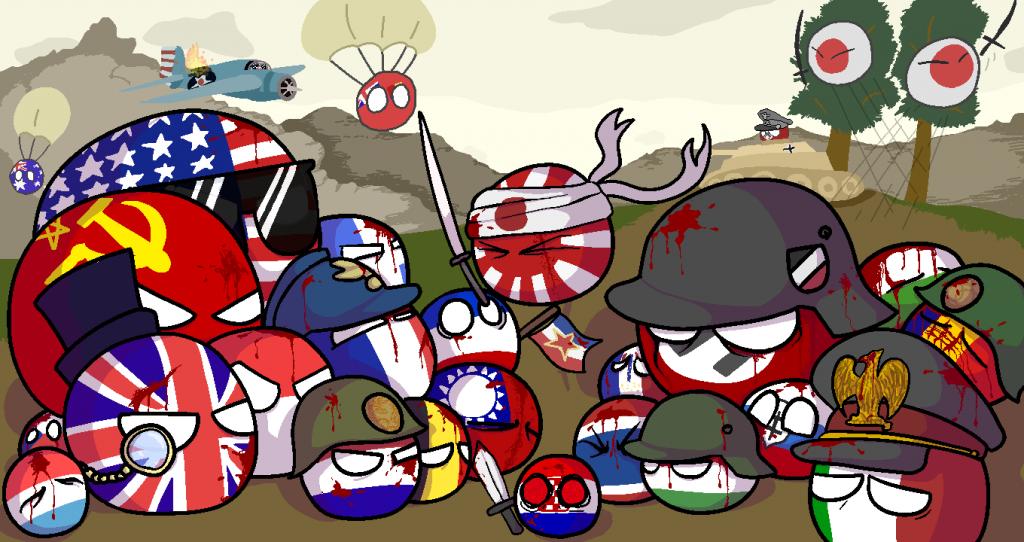 خلاصه جنگ جهانی متحدین شباهت Attack on Titan