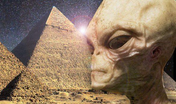 آیا موجودات فضایی اهرام مصر را ساخته اند؟