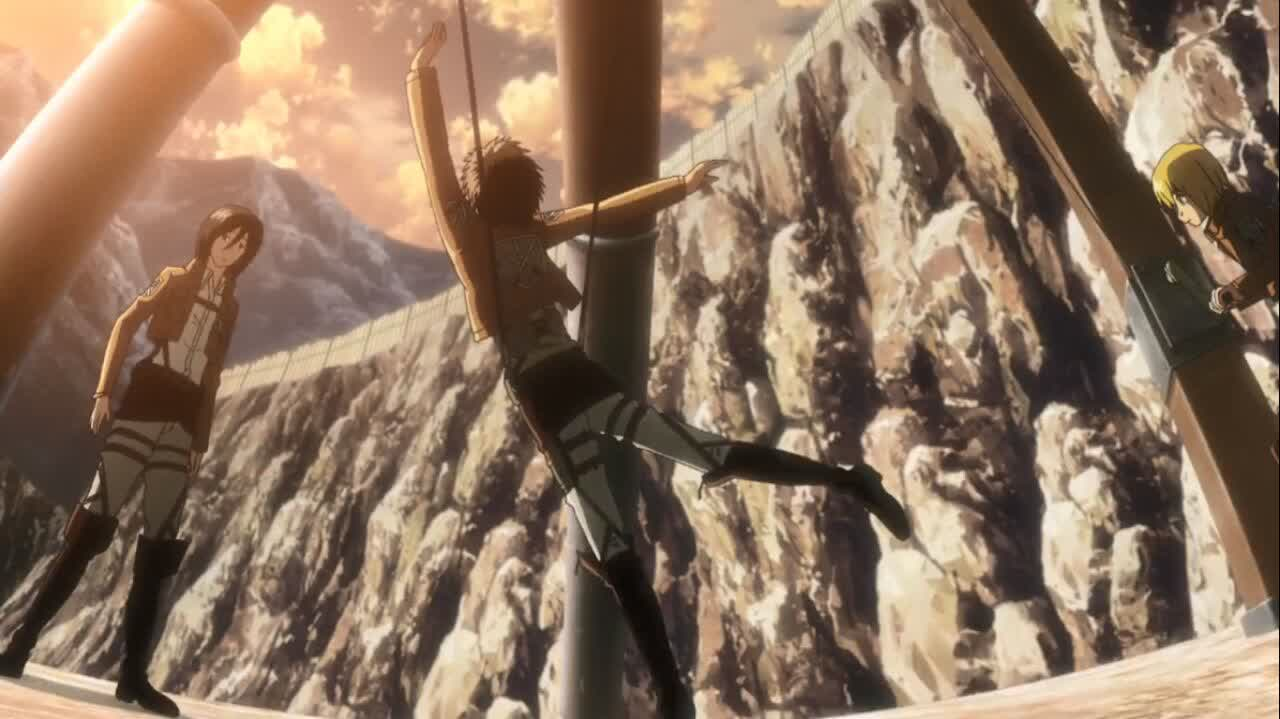 جزئیات جالب انیمه Attack on titan