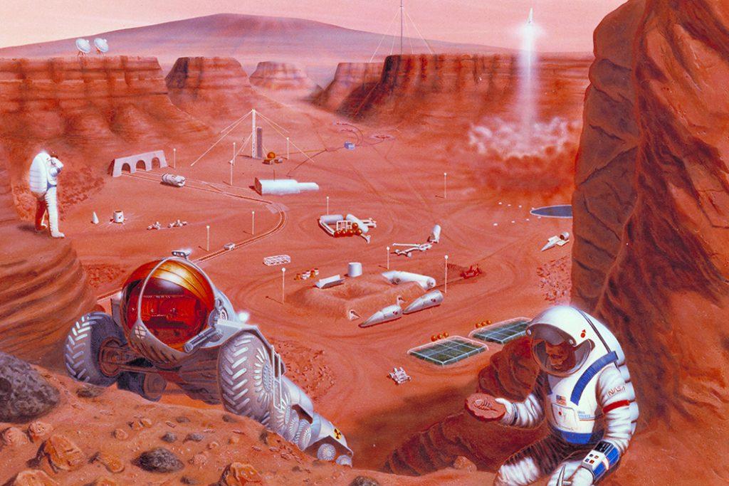 چرا انسانها نمی توانند به مریخ سفر کنند؟