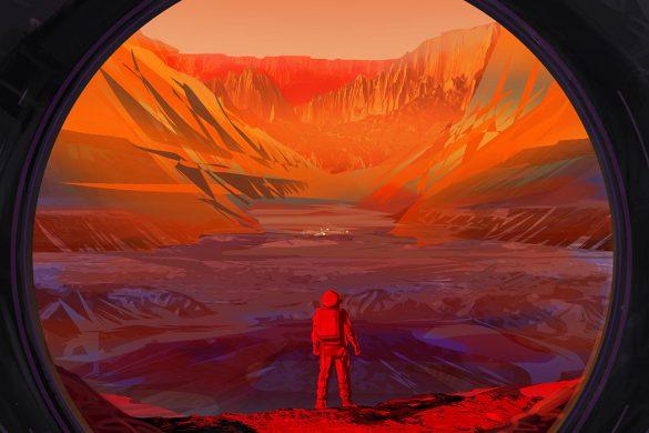 چراچرا انسانها نمی توانند به مریخ سفر کنند؟ فضانوردان ناسا به مریخ نمی روند؟