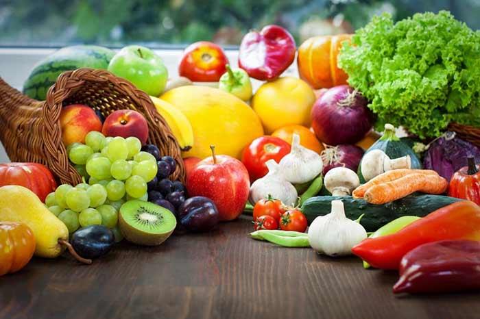 میوه و رژیم غذایی برای سیکس پک