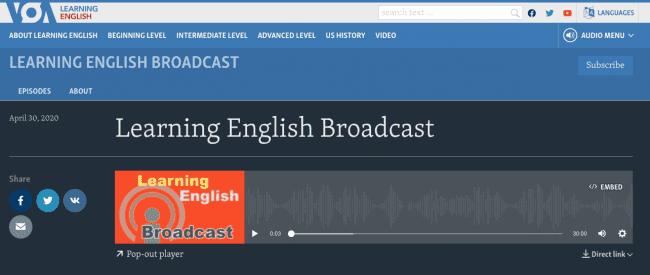 British council از بهترین پادکست ها برای زبان