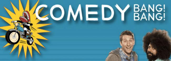 comedy bang bang از بهترین پادکست ها برای زبان