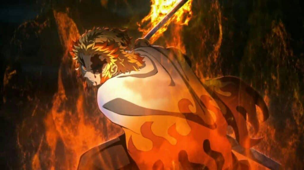 کیوجیرو رنگوکو از هاشیراهای انیمه شیطان کش
