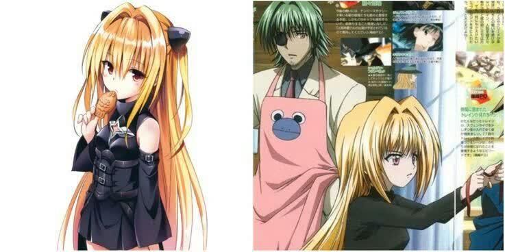 یامی و اویو شخصیت های انیمه ای شبیه به هم