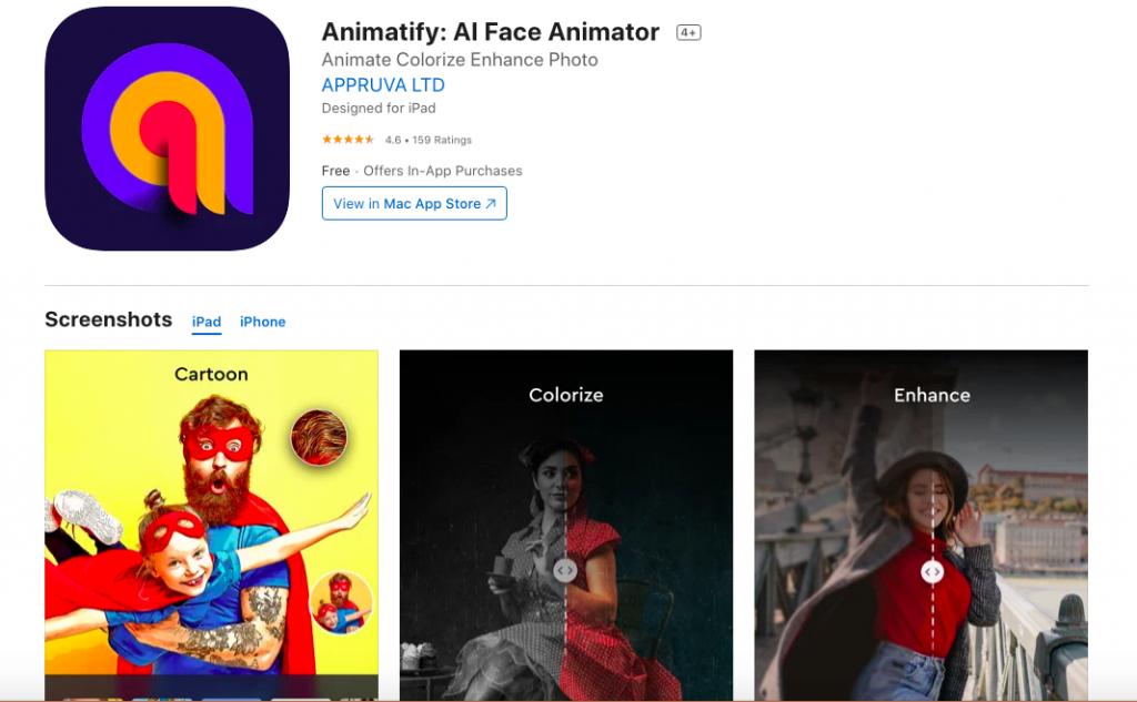بهترین اپلیکشن ها برای بالا بردن کیفیت عکس animatify